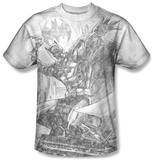 Batman - Pencil Batarang Throw Shirts