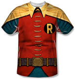 Batman Classic TV - Robin Costume T-Shirts