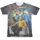 Star Trek - Kirk Spock Mccoy T-shirts