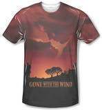 Gone With The Wind - Sunset T-Shirts