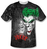 Batman - Joker Sprays The City T-Shirt