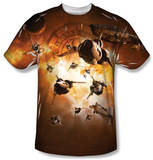 Battlestar Galactica - Dog Fight Shirt