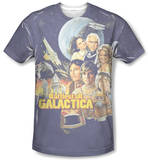Battlestar Galactica(Classic) - Vintage Poster Shirts