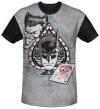Batman - Ace Black Back Shirt