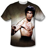 Bruce Lee - Scratched T-shirts