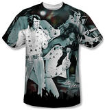 Elvis Presley - Now Playing T-shirts