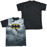 Batman - Bat's Logo Black Back T-shirts