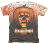 Halloween II - Pumpkin Skull Shirt