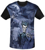 Batman - Catch The Joker Black Back T-Shirt