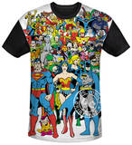 Justice League - Original Universe Black Back Sublimated