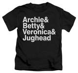 Juvenile: Archie Comics - Ampersand List T-shirts