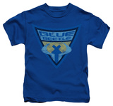 Youth: Batman The Brave and the Bold - Blue Beetle Shield T-shirts