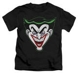 Youth: Batman The Brave and the Bold - Animated Joker Head T-Shirt