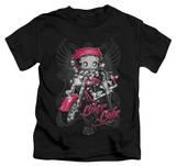 Youth: Betty Boop - Biker Babe T-Shirt