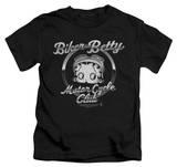 Youth: Betty Boop - Chromed Logo Shirt