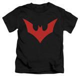 Juvenile: Batman Beyond - Beyond Bat Logo T-shirts