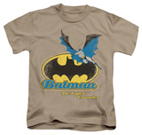 Youth: Batman Caped Crusader Retro T-shirts