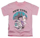 Youth: Betty Boop - Singing In NY T-shirts