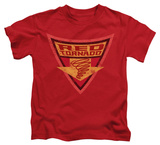 Juvenile: Batman The Brave and the Bold - Red Tornado Shield T-Shirt