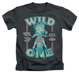 Juvenile: Betty Boop - Wild One T-Shirt