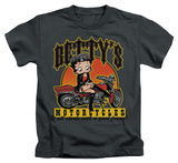 Juvenile: Betty Boop - Betty's Motorcycles Shirts