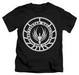 Youth: Battlestar Galactica - Galactica Badge T-Shirt