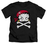 Juvenile: Betty Boop - Pirate T-Shirt