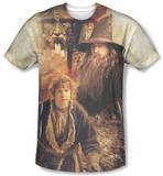 The Hobbit - Bilbo And Gandalf Sublimated