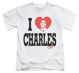 Youth: Charles In Charge - I Heart Charles T-Shirt