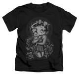 Juvenile: Betty Boop - Fashion Roses T-Shirt