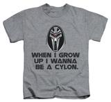 Youth: Battlestar Galactica - Grow Up Cylon Shirt