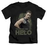 Youth: Battlestar Galactica - Had Me At Helo T-shirts