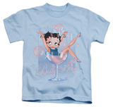 Youth: Betty Boop - Pink Champagne T-shirts