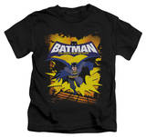 Youth: Batman The Brave and the Bold - Rooftop Leap T-shirts