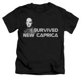 Youth: Battlestar Galactica - I Survived New Caprica T-shirts