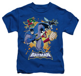 Youth: Batman The Brave and the Bold - Burst Into Action T-Shirt