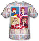 I Love Lucy - All Over Panels T-Shirt