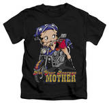 Juvenile: Betty Boop - Not Your Average Mother T-shirts