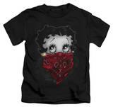 Juvenile: Betty Boop - Bandana & Roses T-shirts