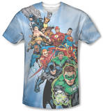 Justice League - Heroes Unite T-Shirt