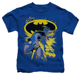 Youth: Batman The Brave and the Bold - Action Collage T-shirts