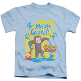 Youth: Curious George - Messy George T-shirts