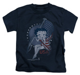 Youth: Betty Boop - Proud Betty T-shirts