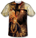 The Hobbit - Bilbo And Gandalf T-Shirt