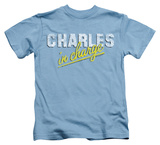 Youth: Charles In Charge - Charles T-shirts