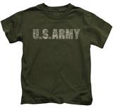 Juvenile: Army - Camo Shirt