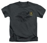 Juvenile: Army - Left Chest T-shirts