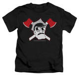 Youth: Axe Cop - Crossed Axes Shirts
