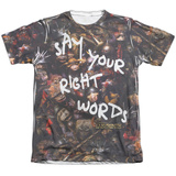 Labyrinth - Right Words T-shirts