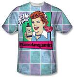 I Love Lucy - All Over Vita Comic T-Shirt